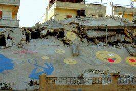 رغم الحصار ، حي الوعر يرسم الابتسامة على وجوه قاطنيه