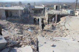 استشهاد 4 مدنيين وإصابة آخرين جراء تنفيذ طيران النظام نحو 125 غارة على مدينة تدمر بريف حمص الشرقي خلال 24 ساعة الماضية