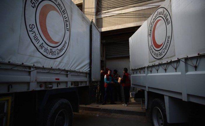 دخول مساعدات طبية إلى غوطة دمشق المحاصرة بعد 7 أشهر من الانقطاع