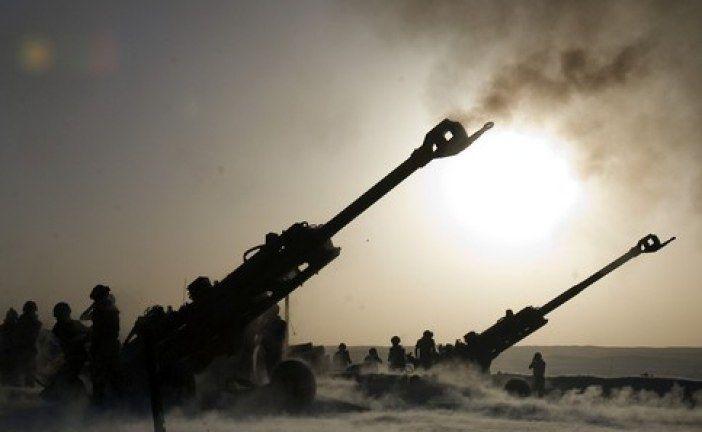 """الجيش التركي يقصف مواقع تابعة لـ""""الاتحاد الديمقراطي"""" الإرهابي في حلب"""