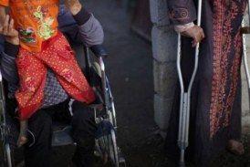 قصص عن نازحين معاقين ومشردين في ريف حلب الشمالي