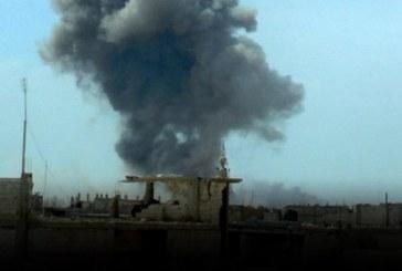طيران النظام يكثف قصفه على غوطة دمشق الشرقية