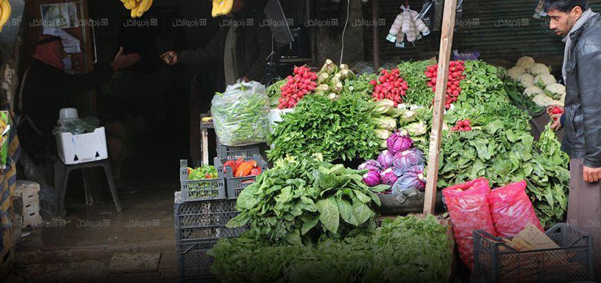 القصف يرفع أسعار الخضراوات في ريفي حماه وإدلب بنسبة 30%