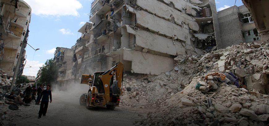 روسيا تعلن وقف قصف مدينة حلب اعتباراً من اليوم