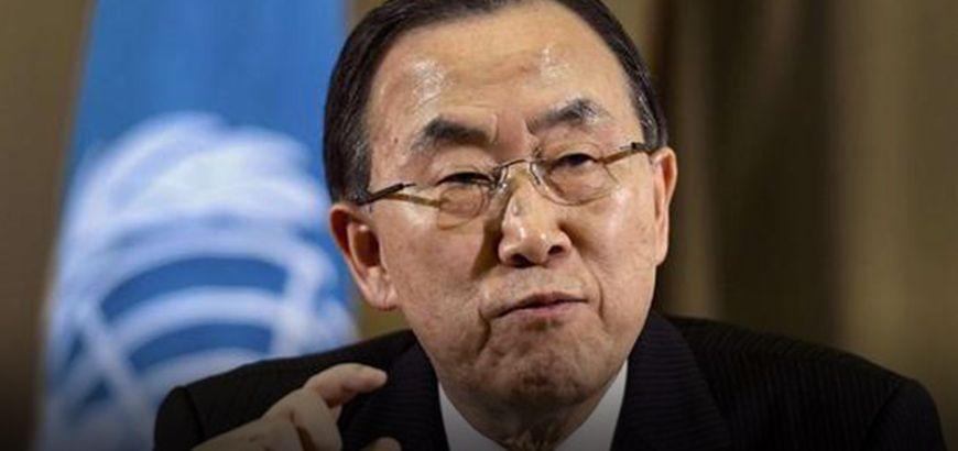 """""""كي مون"""" يدين الهجمات في حلب ويتوعد مرتكبيها بالمحاسة يوماً ما"""