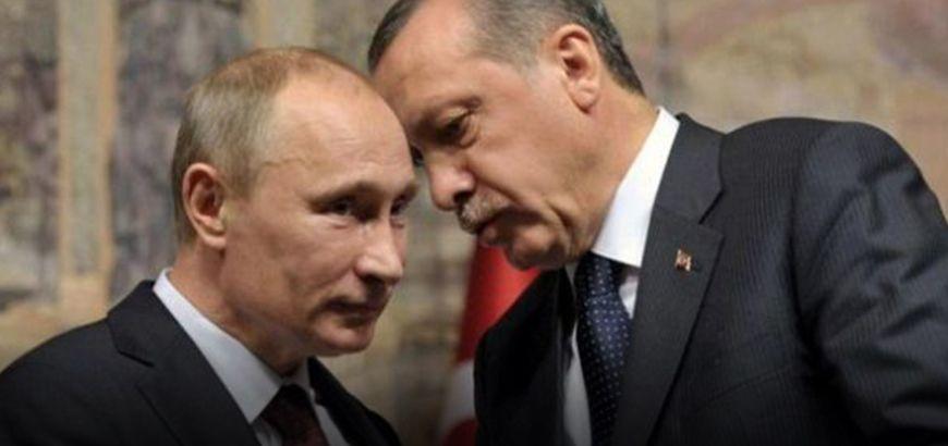 """""""أردوغان"""" و""""بوتين"""" يبحثان هاتفياً القضية السورية"""