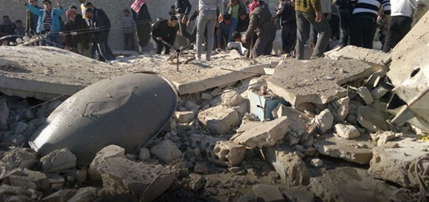 نظام الأسد يرتكب مجزرة بحق النازحين في حلب والثوار يستعيدون بعض النقاط