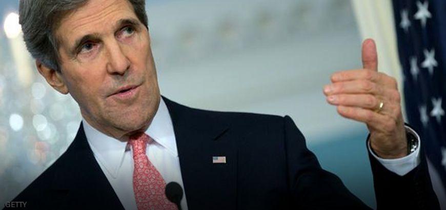 """""""كيري"""" يدعو الأمم المتحدة لاستئناف المحادثات بشأن الملف السوري """"فوراً"""""""