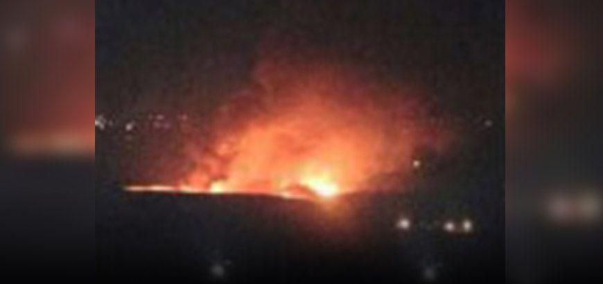 قصف صاروخي إسرائيلي يستهدف مطار المزة التابع لنظام الأسد