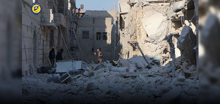رغم إعلان موسكو توقف العمليات في حلب نظام الأسد يواصل غاراته ويقتل 25 مدنييا