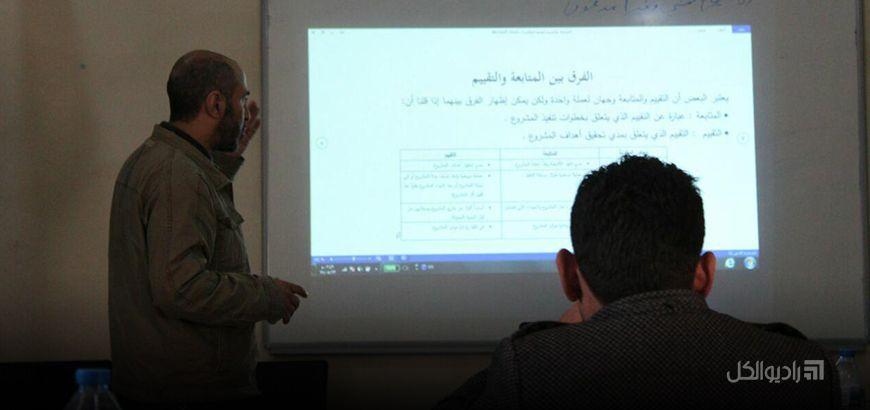 """انتهاء دورة تدريبية لأعضاء المجلس المحلي في """"أخترين"""" بريف حلب"""