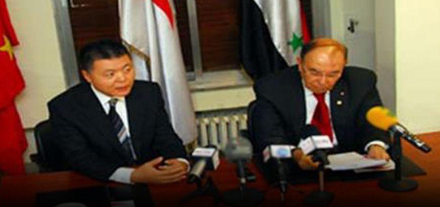 الصين تقدم مساعدات إنسانية بقيمة 16 مليون دولار لحكومة نظام الأسد