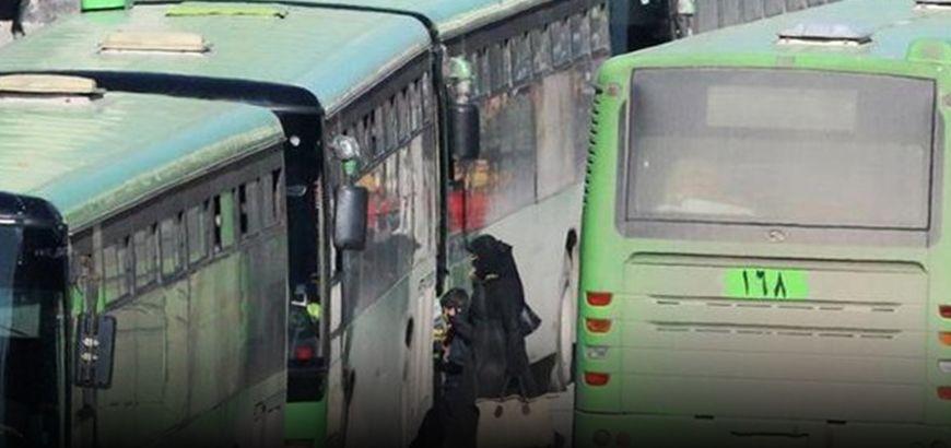 استكمالًا لعمليات التهجير القسري.. الثوار يغادرون سرغايا ويصلون إدلب