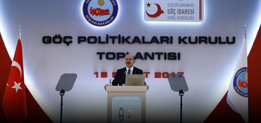بعد استضافتها أكثر من 3ملايين ونصف لاجئ.. الداخلية التركية تؤكد التزامها بواجباتها الإنسانية والقانونية تجاه مسألة الهجرة