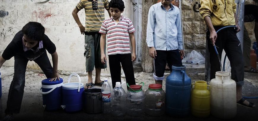 الأمم المتحدة تتهم قوات النظام وداعش بحرمان مايقارب مليوني مدني بحلب من المياه