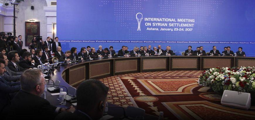 بدون بيان ختامي.. اجتماع أستانة ينتهي وتعهد روسي بوقف الغارات على مناطق المعارضة