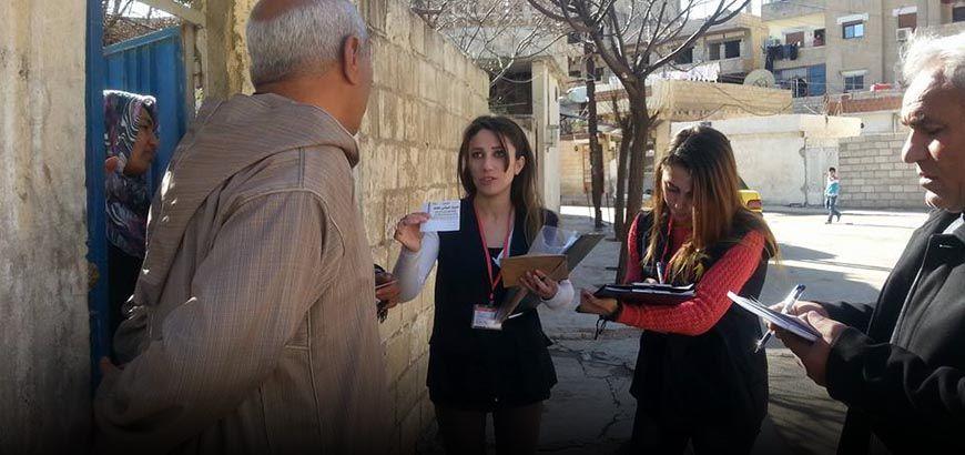 منح 1000 بطاقة معاينة صحية مجانية على العوائل المهجرة في أحياء القامشلي