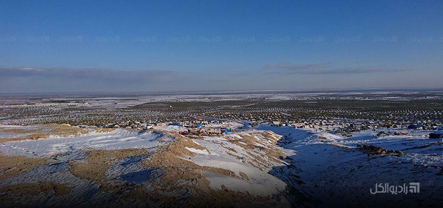 المنخفض الجوي القطبي الذي ضرب البلاد في طريقه للانحسار