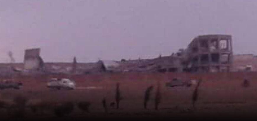 التحالف الدولي يرتكب مجزرة بقصفه مدرسة للنازحين غرب الرقة