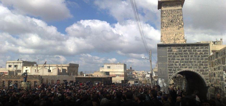 """في الذكرى السادسة لانطلاقتها.. """"درعا"""" لاتزال مهد الثورة السورية"""