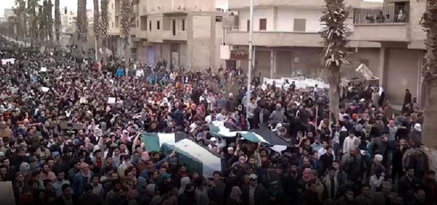 في ذكرى الثورة السورية.. كيف انتفض أهالي الرقة نصرةً للمدن الثائرة