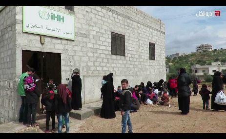"""منظمة """"IHH"""" التركية تفتتح متجراً للألبسة المجانية في مدينة """"أطمة"""" الحدودية"""