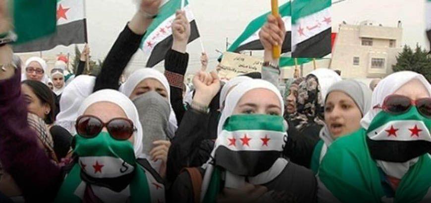 إضاءات على مشاركة ودور المرأة في الثورة السورية