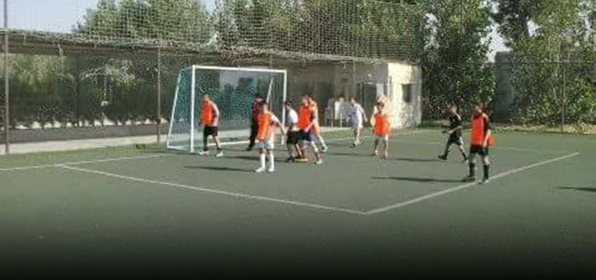 """افتتاح المدرسة """"النموذجية الرياضية"""" بشكل تطوعي في قرية """"كفردريان"""""""