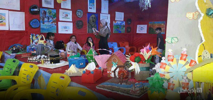بمشاركة 60 طفلاً… افتتاح معرض رسومات أطفال في ريف جسر الشغور