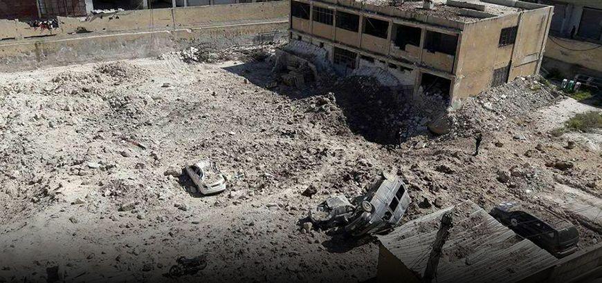 شهداء وجرحى بقصفٍ لطيران روسيا والنظام على أرياف إدلب وحمص ودرعا