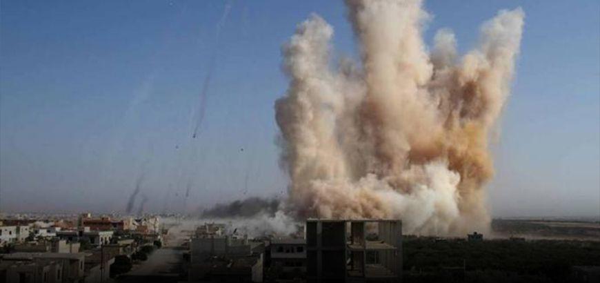 بعد استخدامها آلاف الصواريخ.. قوات النظام تسيطر على قرية المصاصنة بريف حماة