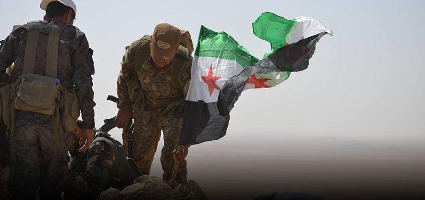 الجيش الحر يواصل تقدمه في البادية الشامية على حساب داعش