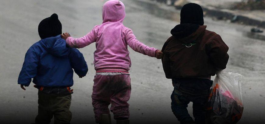 إطلاق مشروع لمّ شمل أطفال حلب المهجرين دون ذويهم في مدينة سرمين بريف إدلب