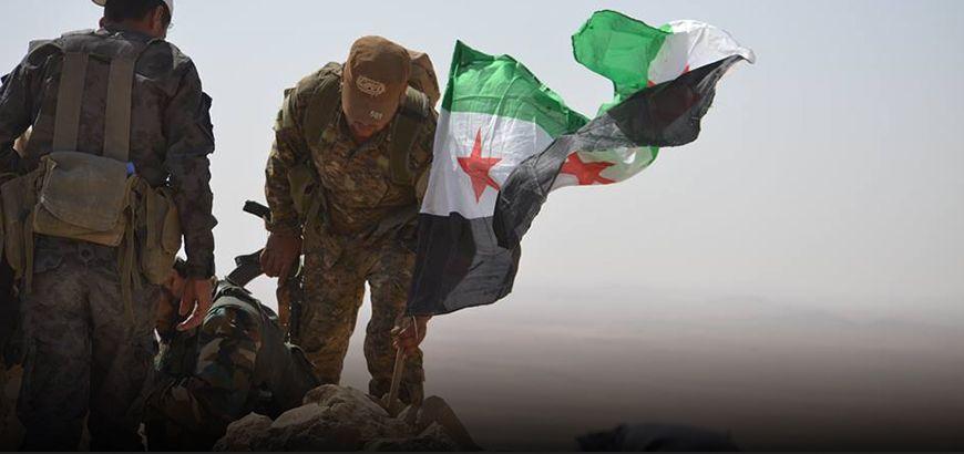 الجيش الحر يطرد داعش من مناطق بالقلمون الشرقي.. ويرصد نارياً عدّة مطارات عسكرية