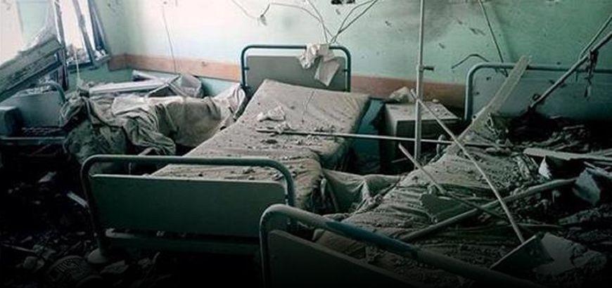 الغارات الروسية توقع 14 شهيدًا وتُخرج مشفى عن الخدمة في ريف إدلب الغربي
