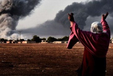 استشهاد 17 مدنيًا بمجزرة لطيران التحالف جنوب الرقة